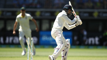 KL Rahul played on trying to leave