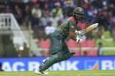 Shakib Al Hasan steers the ball towards the leg side, Bangladesh v West Indies, 1st T20I, Sylhet, December 17, 2018