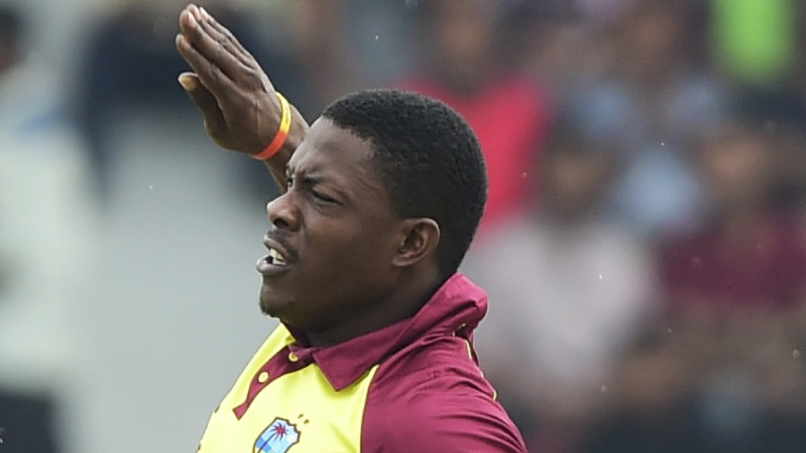 Sheldon Cottrell brings out his customary celebration