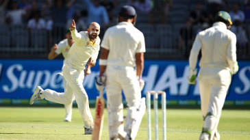 Nathan Lyon claimed the big prize