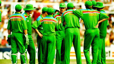 The South African team of the 1992 World Cup wasn't quite representative of the country, but they had the support of the public