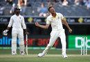 Josh Hazlewood removed Ajinkya Rahane late in the day, Australia v India, 2nd Test, Perth, 4th day, December 17, 2018
