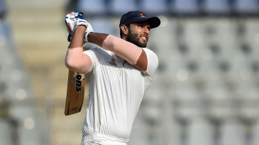 Shivam Dube hit five sixes in an over