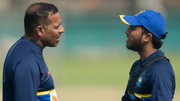 Thilan Samaraweera has a chat with Kusal Mendis