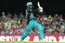Mujeeb Ur Rahman scored some useful runs at No. 11, Brisbane Heat v Adelaide Strikers, Big Bash League 2018-19, Brisbane, December 19, 2018