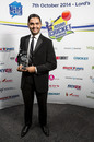 Wasim Khan at the 2014 Asian Cricket Awards, Lord's, October 27, 2014