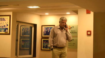 WV Raman at the BCCI headquarters