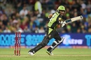Jason Sangha steers the ball through the off side, Sydney Thunder v Melbourne Stars, BBL 2018-19, Canberra, December 21, 2018