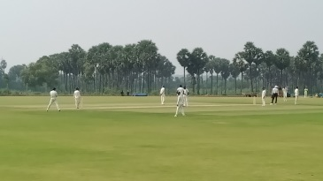 Puducherry play against Meghalaya in the first Ranji match at the CAP Siechem Ground