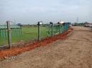 The fencing and surroundings of the CAP Siechem Ground, Puducherry v Meghalaya, Ranji Trophy 2018-19, Puducherry, November 15, 2018