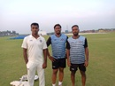AM Narayanan, Saiju Titus and Ranjit Baskaran were all called up at the last minute after several players had been disallowed, Puducherry v Mizoram, Ranji Trophy 2018-19, Puducherry, December 1, 2018