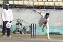 T Natarajan in action for Tamil Nadu, Himachal Pradesh v Tamil Nadu, Ranji Trophy 2018-19