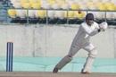 Raghav Dhawan punches the ball, Himachal Pradesh v Tamil Nadu, Ranji Trophy 2018-19
