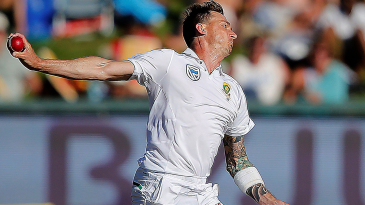 Dale Steyn went from wild and erratic to accurate and aggressive, while all the time remaining fast and scary