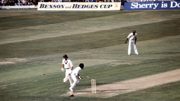 Viv Richards also ran out the other Chappell - Greg - for 15