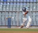 Shreyas Iyer drives through the covers, Mumbai v Saurashtra, Ranji Trophy 2018-19, Mumbai, December 24, 2018