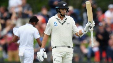 'Sixer' Southee was at it again, hurting Sri Lanka this time