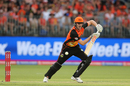 Ashton Turner pushes one into the off side, Perth Scorchers v Adelaide Strikers, BBL 2018-19, Perth, December 26, 2018