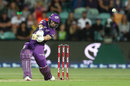 Matthew Wade made a T20 career-best, Hobart Hurricanes v Sydney Thunder, Big Bash, Hobart, December 28, 2018