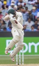 Travis Head gets into a tangle, Australia v India, 3rd Test, Melbourne, 4th day, December 29, 2018