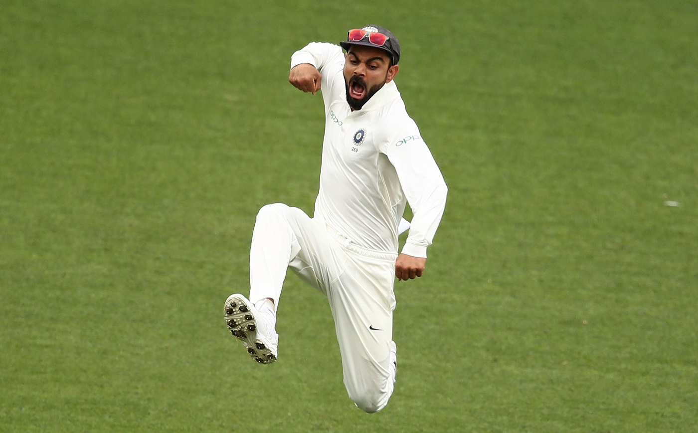 Virat Kohli becomes the first player in history to clean sweep three major ICC awards