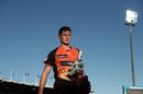 Cameron Bancroft walks on the field before his return to Australian cricket, Hobart Hurricanes v Perth Scorchers, BBL 2018-19, Launceston, December 30, 2018