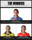 Smriti Mandhana, Alyssa Healy and Sophie Ecclestone were named the ICC top women's cricketers in 2018