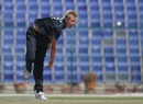 Kyle Jamieson in his delivery stride, Bangladesh v New Zealand, Under-19 World Cup 2014, Abu Dhabi, February 27, 2014