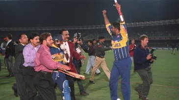 The Sri Lankans win their first World Cup