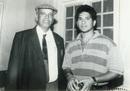 Sachin Tendulkar with coach Ramakant Achrekar