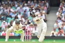 Mayank Agarwal goes aerial, Australia v India, 4th Test, Sydney, 1st day, January 3, 2019