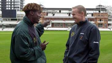 None of the other players in Zimbabwe's World Cup squad were in the know about Henry Olonga and Andy Flower's protest