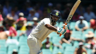 Rishabh Pant flicks imperiously en route his 2nd Test century