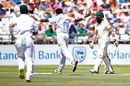 Mohammad Abbas removed Hashim Amla's leg stump, South Africa v Pakistan, 2nd Test, Cape Town, 2nd day, January 4, 2018