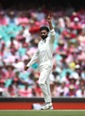 Ravindra Jadeja celebrates Shaun Marsh's dismissal, Australia v India, 4th Test, Sydney, 3rd day, January 5, 2019