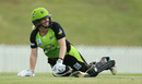 Alex Blackwell has a laugh while trying to get back to the crease, Sydney Thunder Women v Melbourne Stars Women, WBBL 2018-19,, Sydney, January 5, 2019