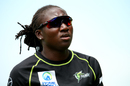 Stafanie Taylor looks on, Sydney Thunder Women v Melbourne Stars Women, WBBL 2018-19,, Sydney, January 5, 2019