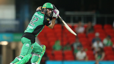 Glenn Maxwell steers one onto the off-side