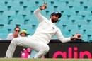 Hanuma Vihari drops a catch, Australia v India, 4th Test, Sydney, 4th day, January 6, 2018
