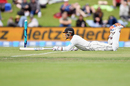 BJ Watling of New Zealand dives, day one, Second Test, New Zealand v Sri Lanka, Hagley Oval, December 26, 2018 in Christchurch, New Zealand.