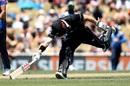 Henry Nicholls makes a dash for the crease, New Zealand v Sri Lanka, 3rd ODI, Nelson, January 8, 2019