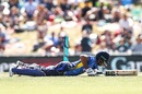 Kusal Mendis was adjudged run out by a dodgy call from the third umpire, New Zealand v Sri Lanka, 3rd ODI, Nelson, January 8, 2019