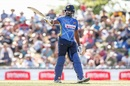 Thisara Perera waged a lone battle again with a superb half-century, New Zealand v Sri Lanka, 3rd ODI, Nelson, January 8, 2019