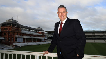Ashley Giles, ECB's new director of England cricket, at Lord's