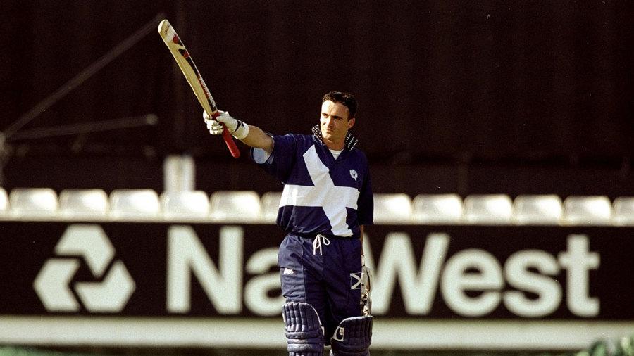 One-man show: Scotland's batting hopes in 1999 rested on Gavin Hamilton