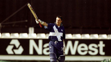 One-man show: Scotland's batting hopes in 1999 rested on Gavin Hamilton