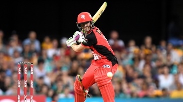 Sam Harper shapes to late-cut