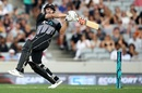 An aggressive Doug Bracewell took on the bowlers, New Zealand v Sri Lanka, Only T20I, Auckland, January 11, 2019