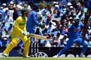 Alex Carey is caught at first slip by Rohit Sharma, Australia v India, 1st ODI, Sydney, January 12, 2019