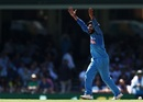 Ravindra Jadeja appeals for an lbw, Australia v India, 1st ODI, Sydney, January 12, 2019